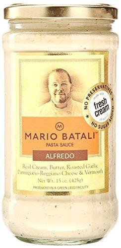 Mario Batali Pasta Sauce - Alfredo - 15 oz