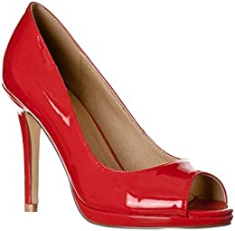 Amazon.com: Red - Pumps / Shoes: Clothing Shoes &amp Jewelry
