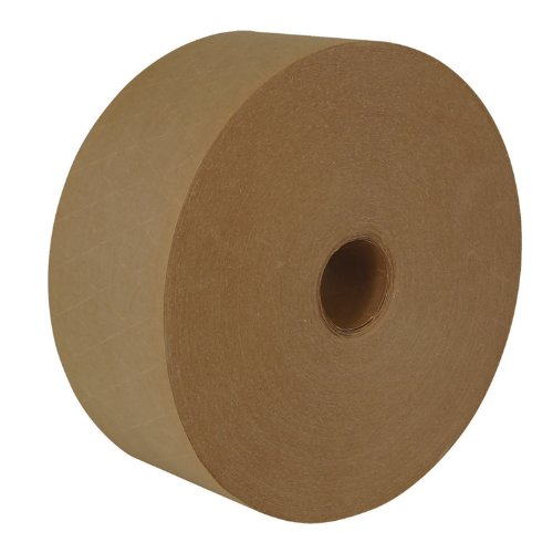 Intertape Polymer Group - Central 260 Grade K7450 Reinforced Water Activated (WAT) Tape,  3'' x 450', Natural, Case of 10 Rolls by Intertape