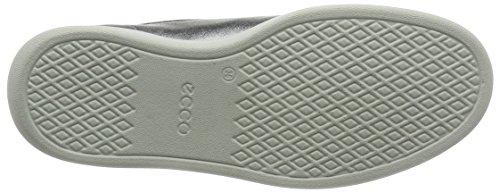 ECCO Soft 4, Zapatos de Cordones Derby para Mujer Silber (50521ALUSILVER/WHITE)