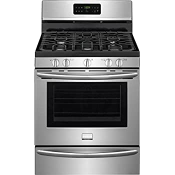 Frigidaire FGGF3045RF Gallery Series 30 Inch Freestanding Gas Range with 5 Burners, Sealed Cooktop, Griddle, 5 cu. ft. Primary Oven Capacity, in Stainless Steel