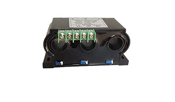 Loulensy 3-phase AC Current Sensor Transducer Transformer Transmitter with 3 Element 0-250A AC Output 0-5V DC: Amazon.com: Industrial & Scientific