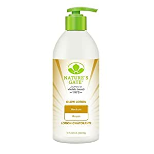 Nature's Gate Medium Skin Glow Lotion, 18 Ounce