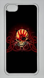 skull five finger death punch brass knuckles Custom PC Transparent Case for ipod touch4 by icasepersonalized