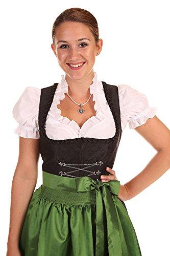 Stoiber Damen Dirndl schwarz 113152-9 OHNE Schürze