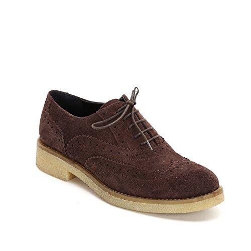 Seval Camoscio Fondo Para Testa amp;scarpe Stringate Moro Rondine Scarpe Scarpa In Coda Bassa By Con A Marina Di dvZxCd