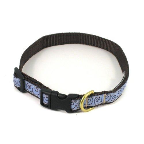 Curly Q Dog Collar - Small (9-15L x 0.6W)
