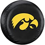 NCAA Iowa Hawkeyes Tire Cover, Large, Black