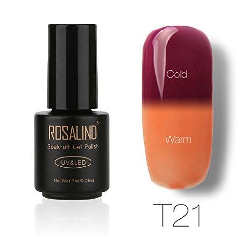 Oksale ROSALIND 7ML Color Changing Gel Nail Polish Nail Art
