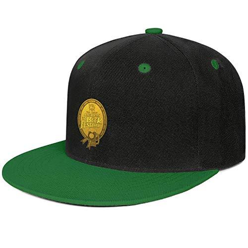 GuLuo Great American Beer Festival Gold Medal Flat Brim Baseball Cap Slim Fit Adjustable Fishing Hat