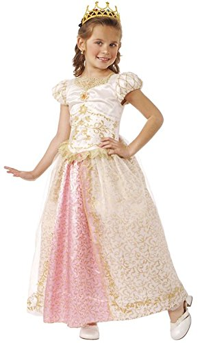 Rubie's Child's Deluxe Fairy Tale Princess Wedding Costume, -