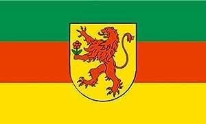 UB FahnenMax–Bandera del Rin felden (Baden) 90cm x 150cm NUEVO.