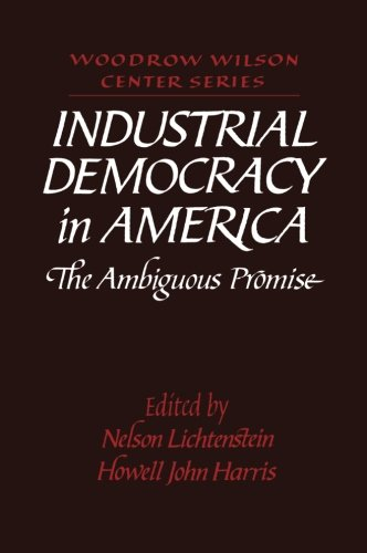 Industrial Democracy in America: The Ambiguous Promise (Woodrow Wilson Center Press)