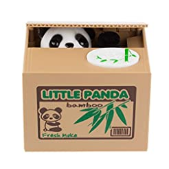 Suns Bell Panda Stealing Cute Coin Bank ...