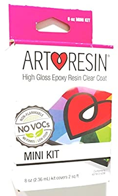 Clear Non-toxic ArtResin® Epoxy Resin Mini Kit