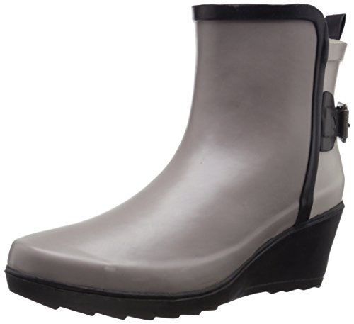 CHOOKA Womens' Waterproof Top Solid Mid Rain Boot - Taupe...