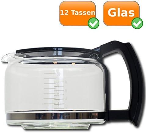 Universal para jarra de cristal con tapa para cafetera – Altura ...
