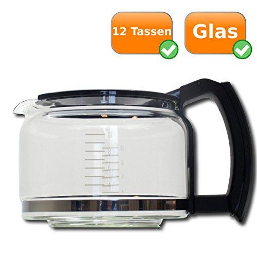 Universal para jarra de cristal con tapa para cafetera - Altura ...