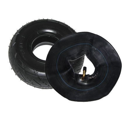 3.00-4 Tire & Inner Tube Combo For Razor Pocket Rocket Razor E300 & E325 eZip 4 (Goped Electric Scooter)
