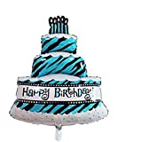3 Layers Cake Foil Extra Large Balloon For Birthday Party Decorations