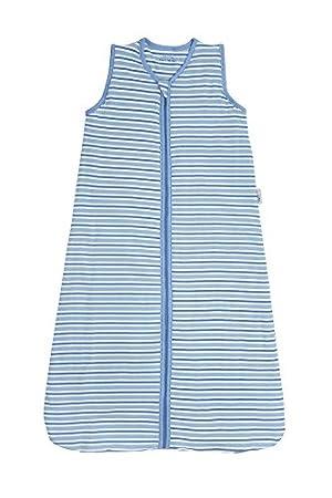 Slumbersac Summer Sleeping Bag 1 Tog - Simply Blue Stripes (12-36 months)