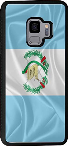 Hard Rubber Phone Case for Samsung Galaxy S9 Case Cover - Guatemala Flag (Guatemala Cover)