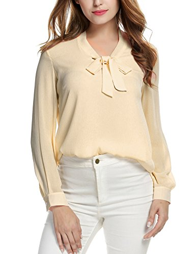 ACEVOG Long Sleeve Work Clothes for Women Formal -