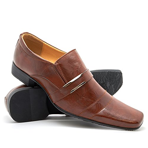 London Footwear Cipriano, Men's Loafer Flats Brown