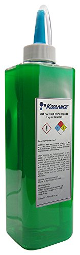 Koolance LIQ-702GN-B Koolance 702 Liquid Coolant, High-Performance, UV Green, 700ml (24 fl oz) ()