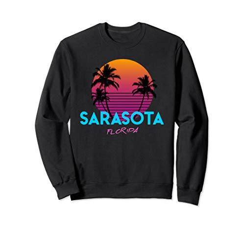- Sarasota Florida Retro 80s Sweatshirt