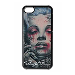 Best Marilyn Monroe Smoking Apple iphone 5C case On Cover Faceplate Protector