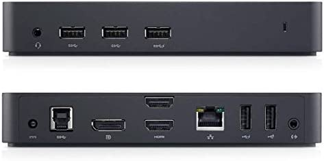 Dell USB 30 Ultra HD4K Triple Display Docking Station D3100 Black at Kapruka Online for specialGifts