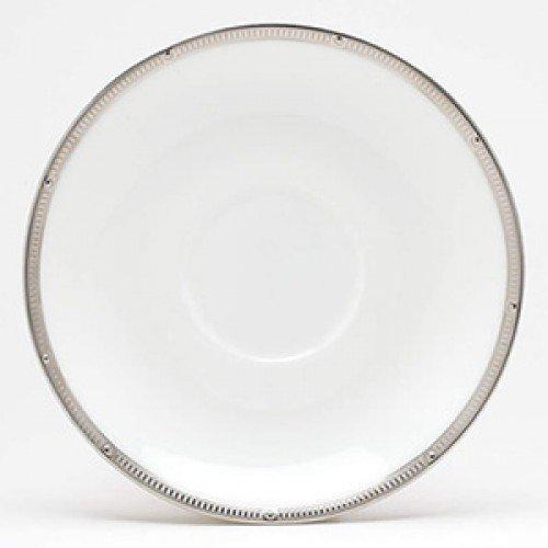 Noritake Rochelle Platinum Saucer by Noritake by Noritake