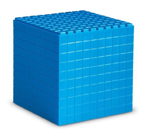 (Learning Resources Interlocking Base Ten, 1 Cube)