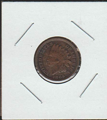 1864 Indian Head (1859-1909) (Full Liberty) Penny Choice Extremely Fine