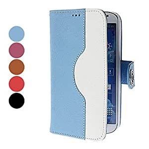 Gt Full Body PU Leather Case with Stand and Card Slot for Samsung Galaxy S4 I9500 (Assorted Colors) , Brown