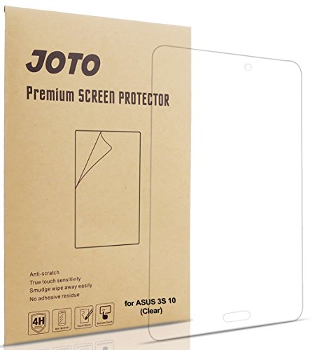 ASUS ZenPad 3S 10 Screen Protector Film, JOTO Ultra Crystal Clear (Invisible) Screen Guard for ASUS ZenPad 3S 10 Z500M, (3 Pack) (Asus 10 Tablet Screen Protector)