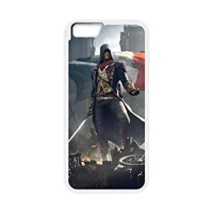 Assassin'S Creed Unity iPhone 6 4.7 Inch Cell Phone Case White TPU Phone Case SV_146449