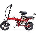 41yMGRMh7TL. SS150 JXH 14 a Città del Pieghevole E-Bike Bici elettrica con Rimovibile Grande capacità agli ioni di Litio (48V 350W), per…