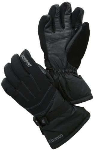 Gordini Women's Gtx Down Gloves, Black, Large