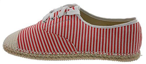Pour Tom Rouge Ville Chaussures Eva De amp; 39 Lacets Rot Femme Eu À qzgqr0S