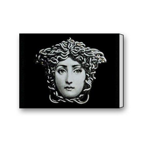 Custom Fornasetti Medusa Face Canvas Print Wall Art Print 16