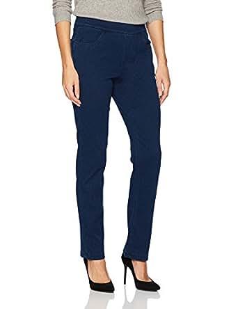 Erika Women's Joey Knit Denim Pull-on Jean, Libra Wash, Small