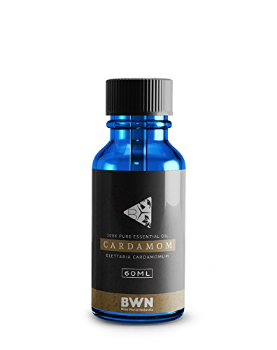 Cardamom (5 ML) - Best Quality 100% Pure Essential Oil - Premium Therapeutic Grade Oil by Blue World Naturals