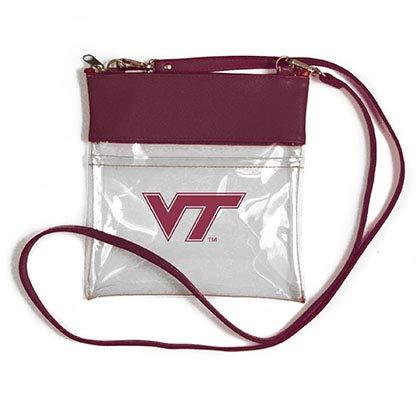 - Desden Virginia Tech Hokies Clear Gameday Crossbody Bag