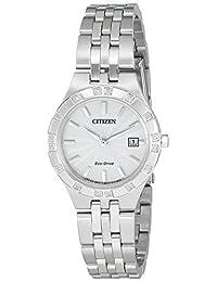 Citizen Women's 'Sport' Quartz Stainless Steel Casual Watch (Model: EW2330-51A)