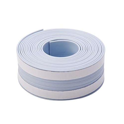 Taiguang Bathtub Caulk Strip PVC Waterproof Self Adhesive Tub and Wall Sealing Tape Caulk Sealer