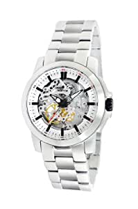 Kenneth Cole New York Men's KC9112 Automatic Triple Silver Automatic Watch