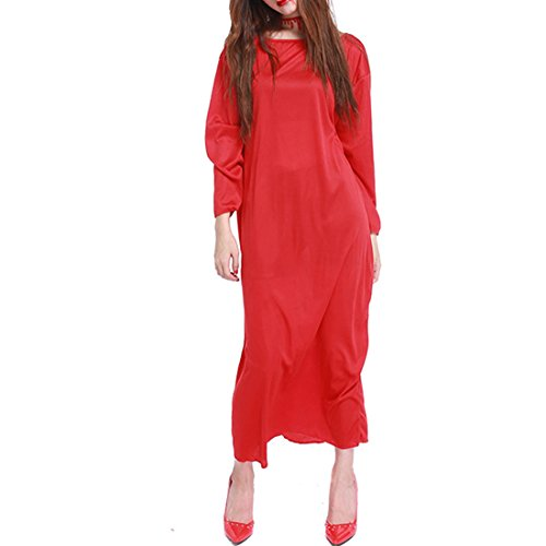 Halloween Scary Tricky Grimace Horror Costume with Hair (Little Red Riding Hood Halloween Hair)