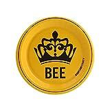 Black Yellow Queen Bee Bachelorette Party Supplies Dessert Plate Pack (8)